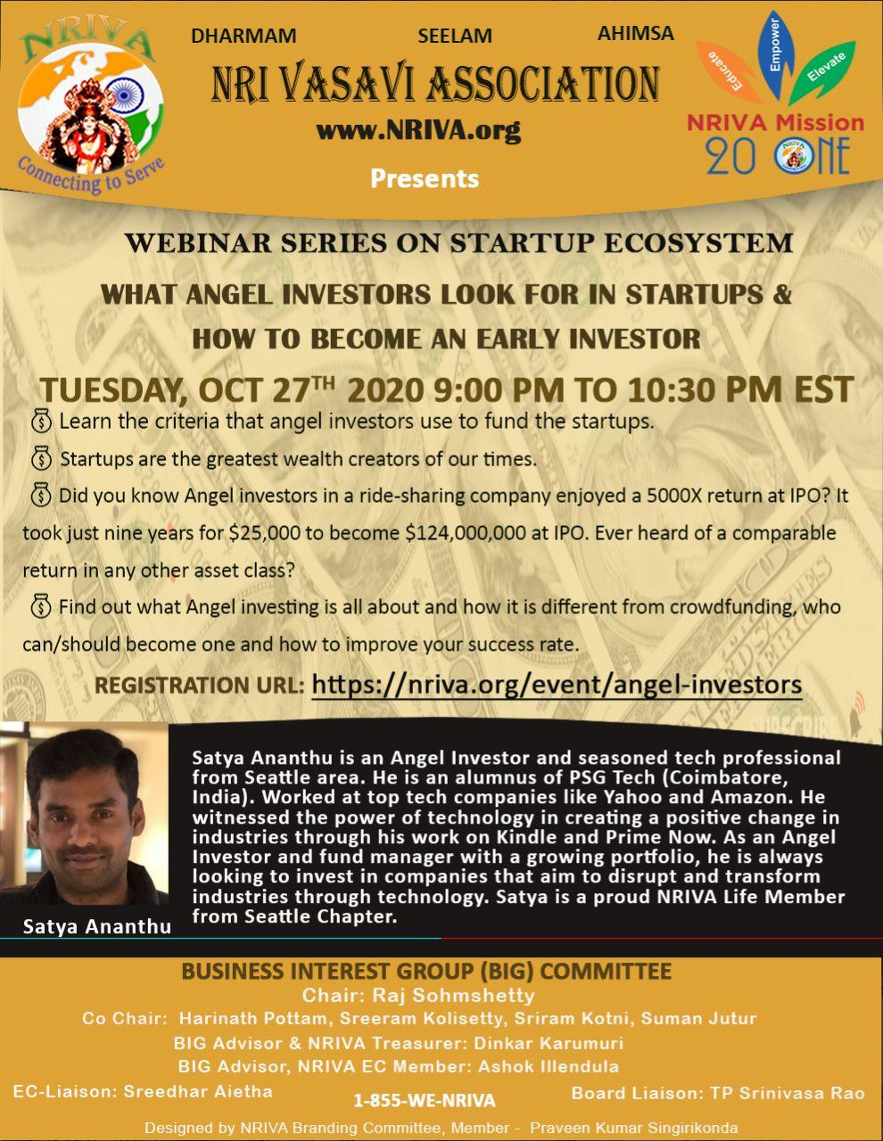 Angel Investors: How to become an Early Investor in Startups