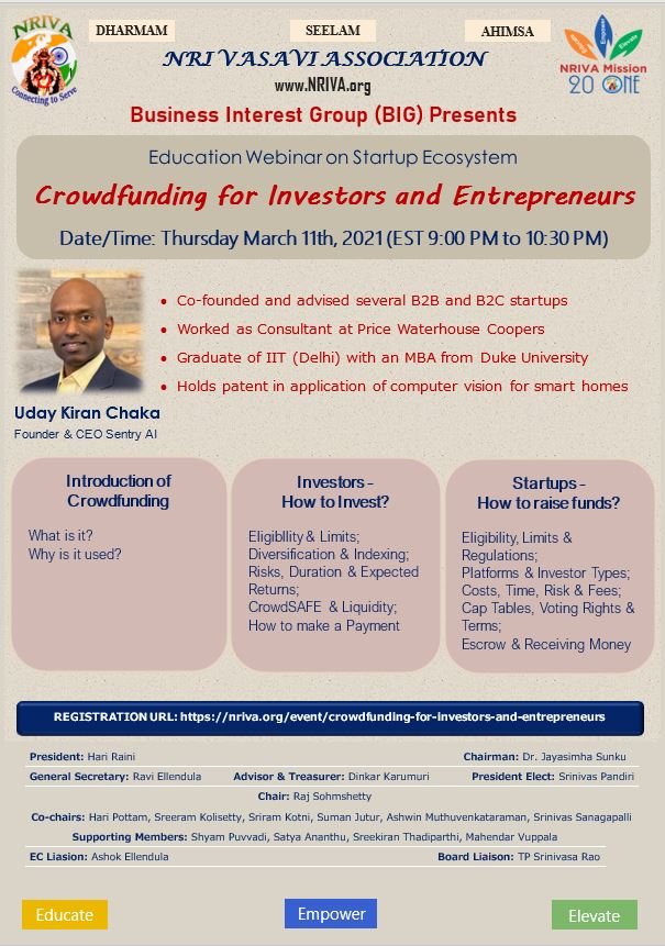 Crowdfunding for Investors and Entrepreneurs