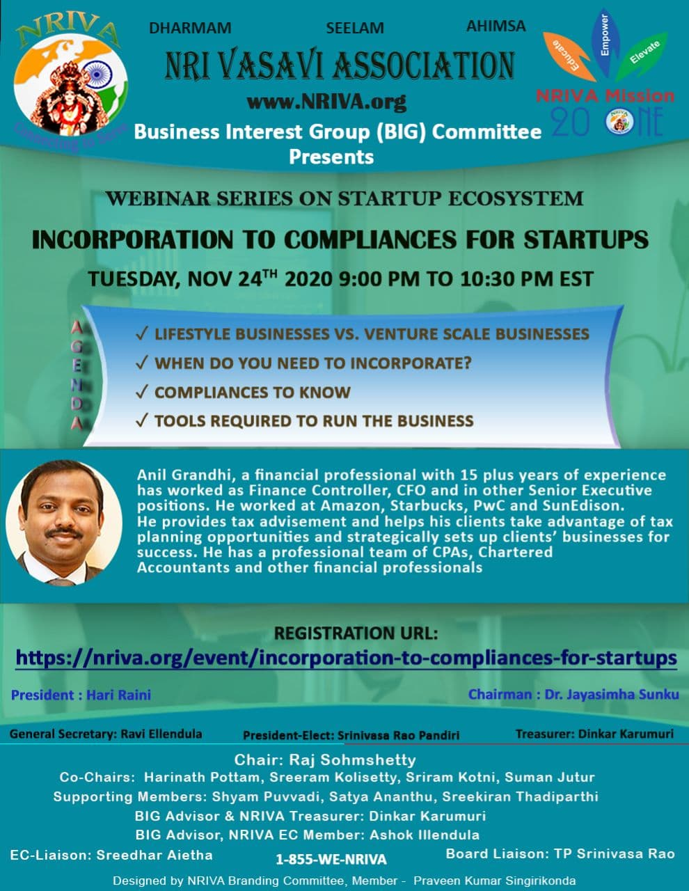 Incorporation to Compliances for Startups