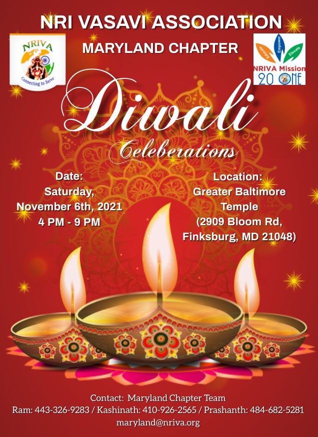 MD Chapter Diwali Celebrations 2021