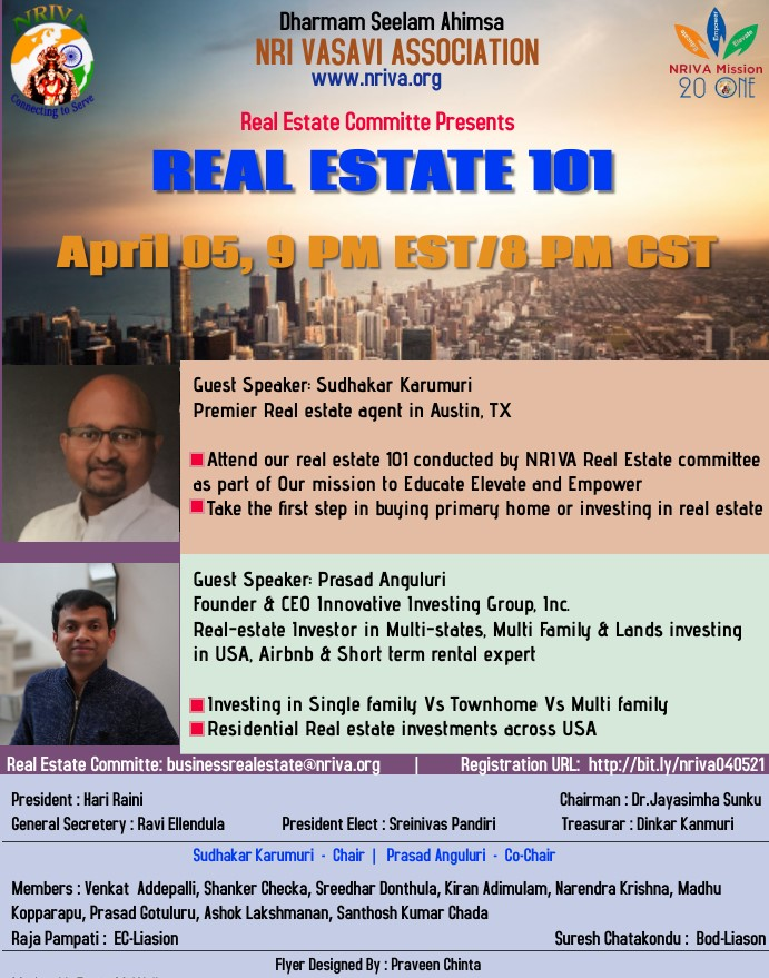 Real Estate 101 - Residential & Investment Guidance