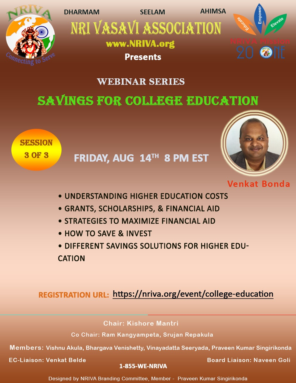 College Education Savings for YOUTH