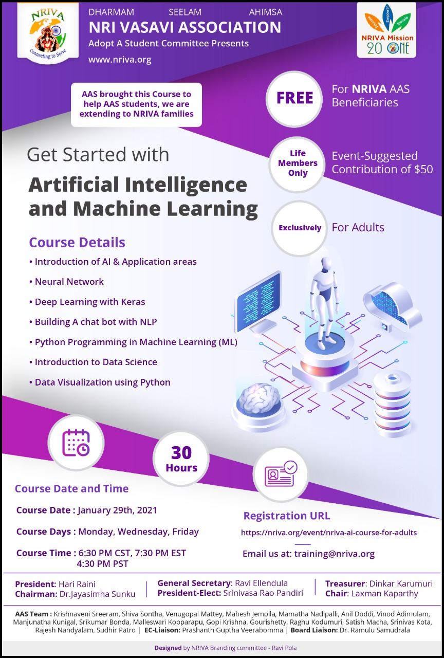 AI course for adults