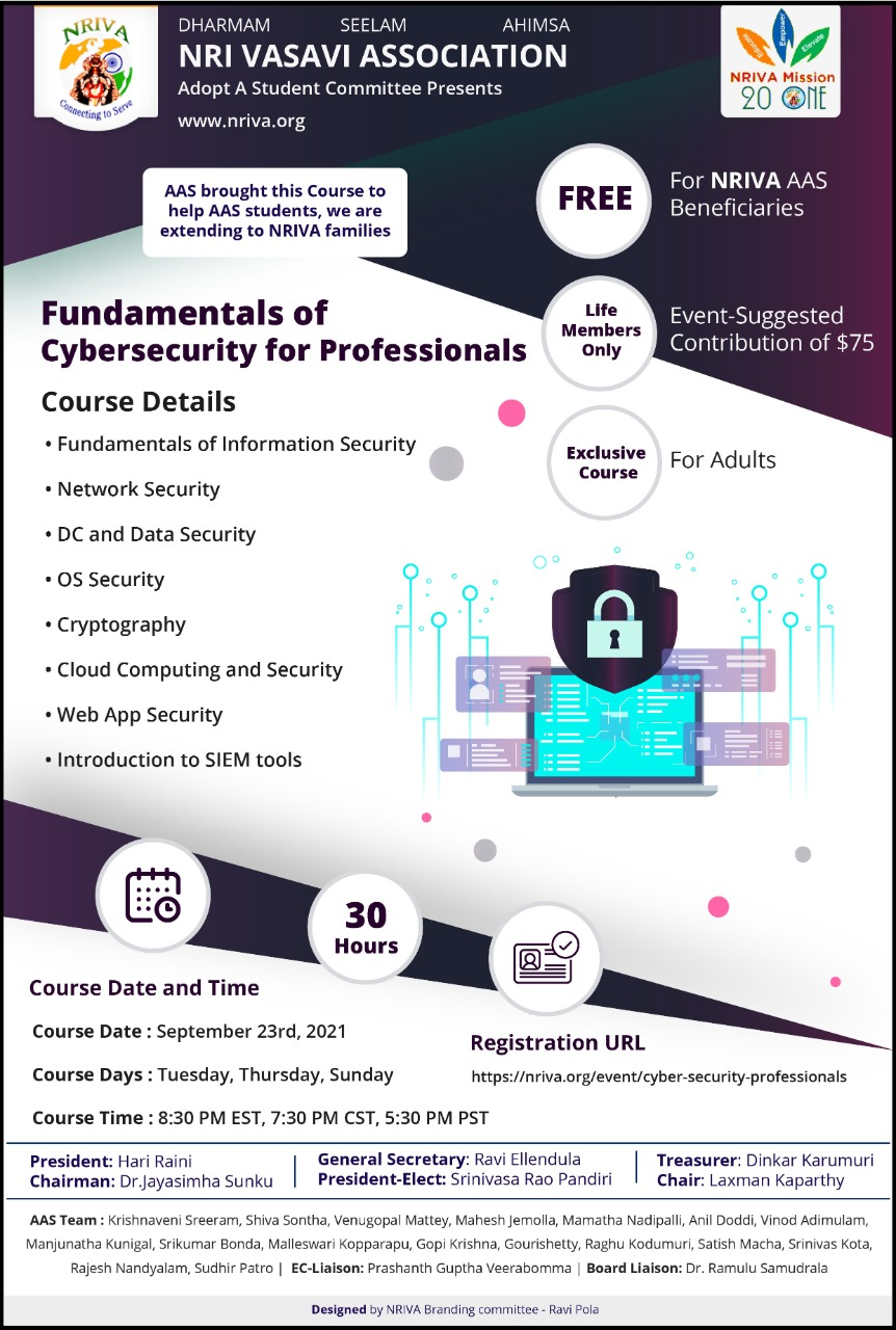 Fundamentals of Cyber Security for Professionals