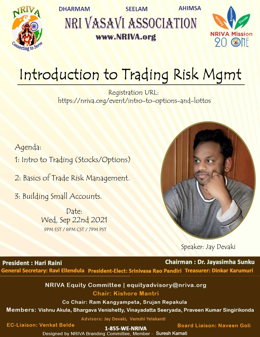 Intro to Trading and Risk Management