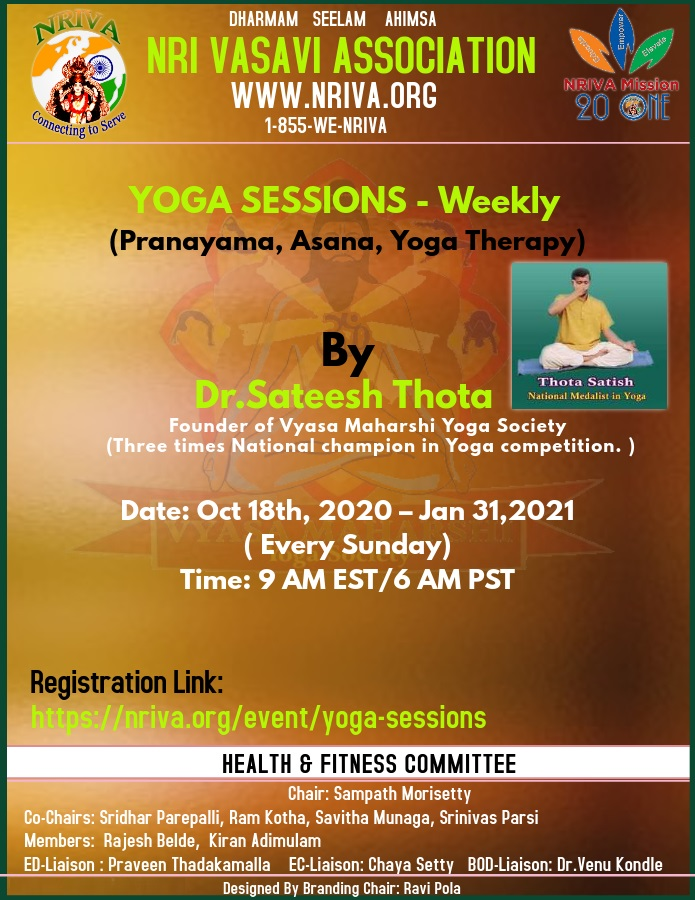 Yoga sessions - Recurring