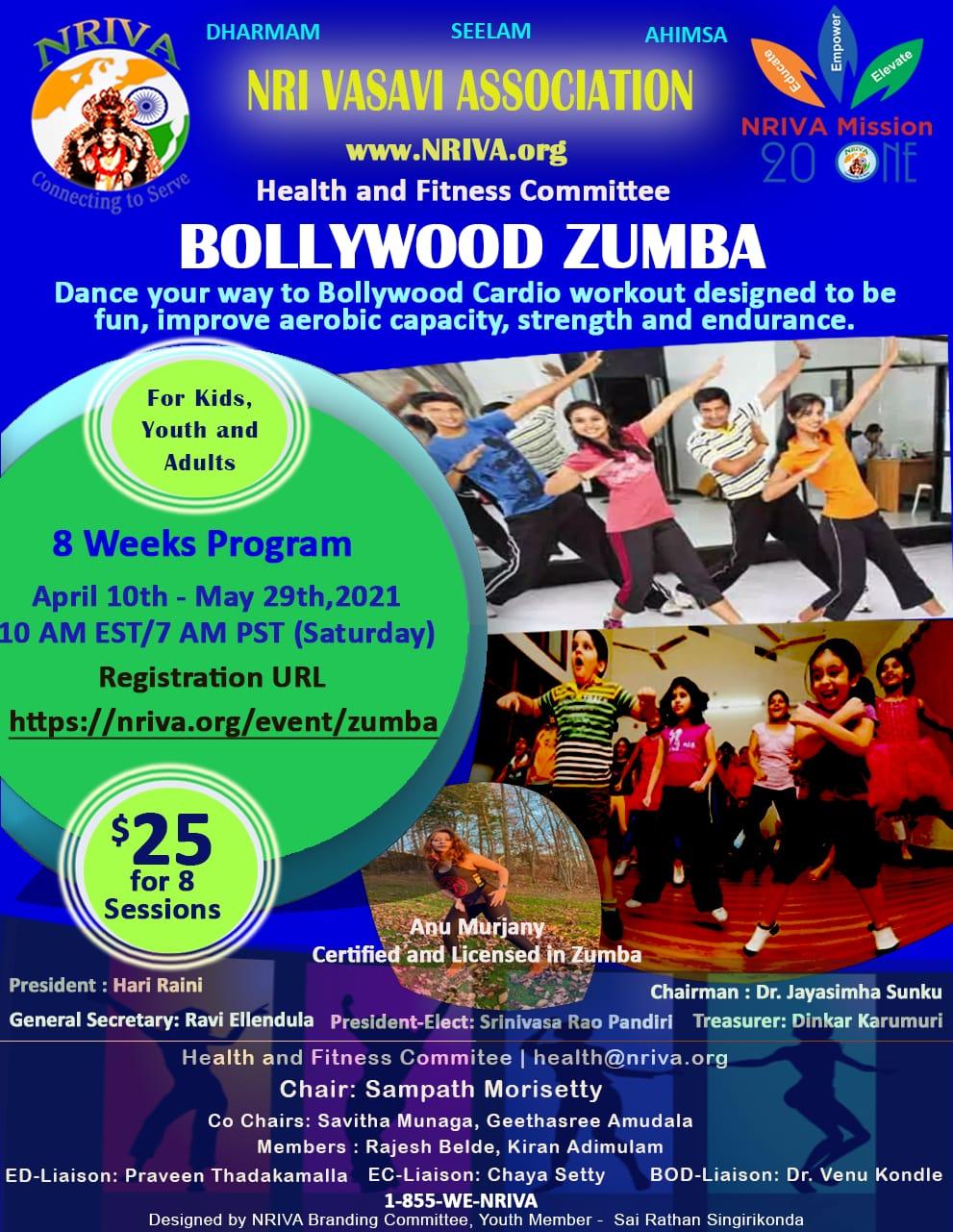 Bollywood Zumba - Recurring